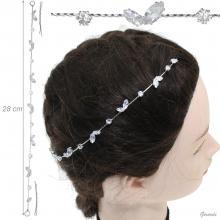 Decorative Metal Hair Pins With Rhinestones