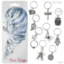 Decorated Rings For Hair Style