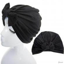 Black Turban With Bow