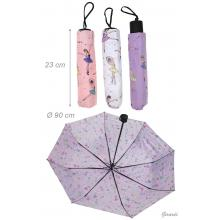 Foldable Umbrella With Ballerinas