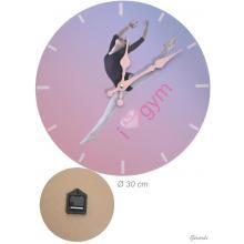 Artistic Gymnastics Wall Clock