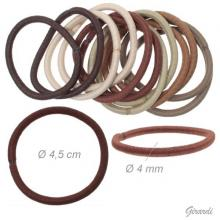 Assorted Brown Thin Hair Tie 4,5 Cm