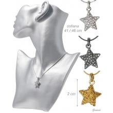 Necklace With Strass Star