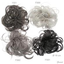Assorted Gray Tuft Hair Bobbles