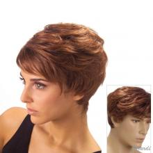 Synthetic Short Unisex Wig - Mod. Simon