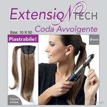 Embracing Ponytail Extension - Iron Friendly