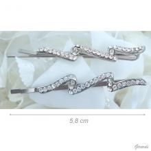 Hair Pin With Lightning Strass 5,8cm