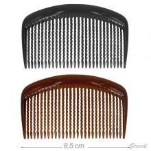 Plastic Comb Brown Or Black 8.5cm
