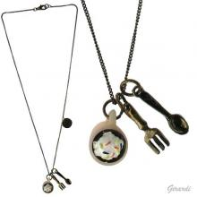 Assorted Metal Pendant Necklace