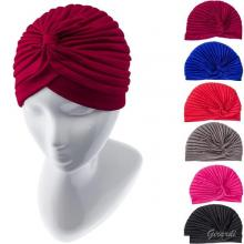 Cotton And Polyester Ribbed Turban