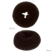 Bumpits For Chignon/bun Donut-shape Brown 5cm